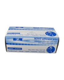 Handschoenen NITRIL BLAUW LARGE Niet-gepoederd 3,0 gr
