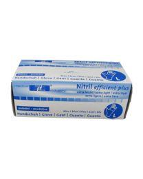 Handschoenen NITRIL BLAUW X-LARGE Niet-gepoederd 3,0 gr