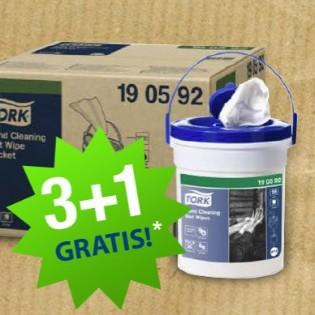 TORK 3+1 gratis