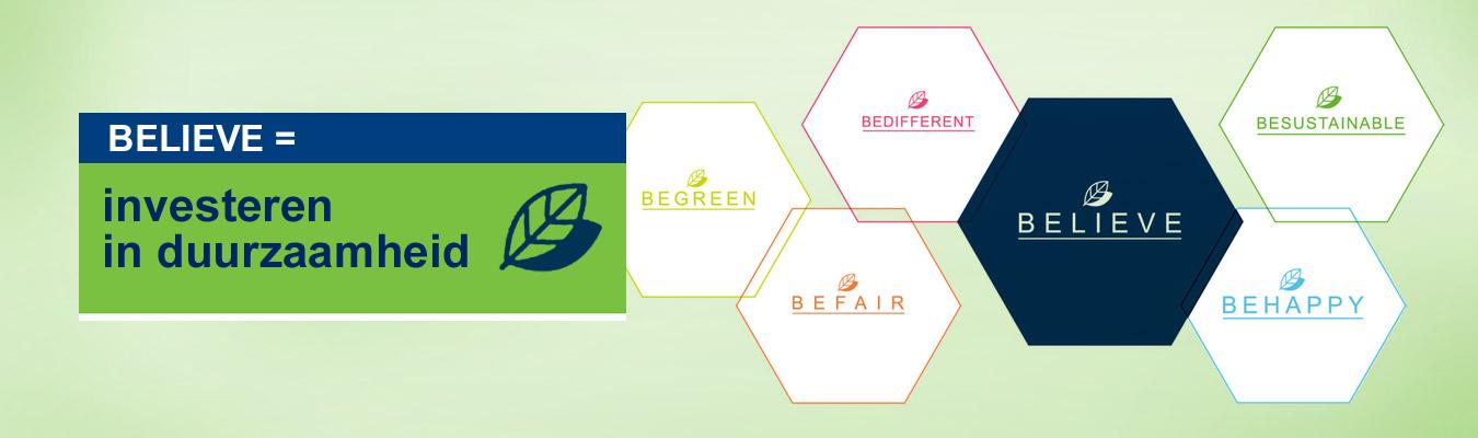 Believe = investeren in duurzaamheid